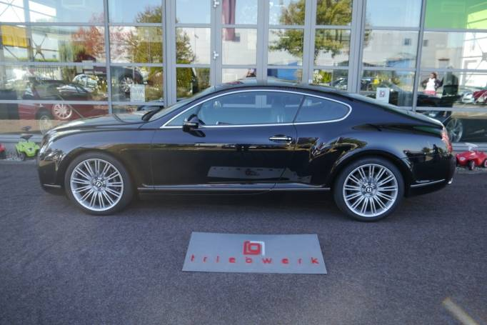 Bentley Continental GT Speed W12